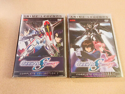 Gundam Seed Destiny - Complete Collection 1 & 2 Anime Legends DVD Sealed New