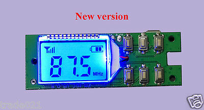 Digital FM Transmitter Module Wireless Microphone Audio Transmitter 87-108MHz