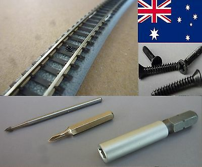 SCREWS for ROKUHAN Classic Tracks SCALE Z + TOOLS - POSTAGE-FREE (AUS)