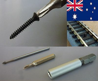 SCREWS for MTL micro-trains Tracks SCALE Z + TOOLS - POSTAGE-FREE (AUS)