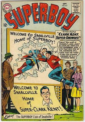 Superboy #107 (Dc) Sept 1963 - Vg (4.0)