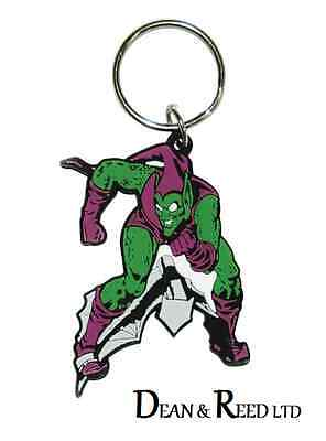 *new* Marvel Comics Green Goblin Rubber Keyring / Keychain By Pyramid