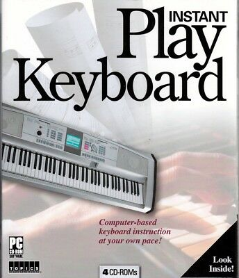 Learn How to Play KEYBOARD (Piano)4 Instructional Tutorial CDs learn at own pace