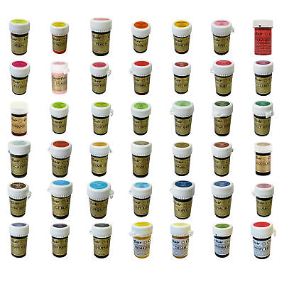 *Any 6* Sugarflair Paste Edible Gel Concentrated Icing Food Colouring Colour