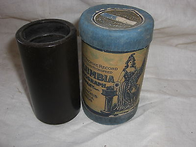 Sousa's Band Columbia 2M Wax Cylinder Record 31633 Invicible Eagle March