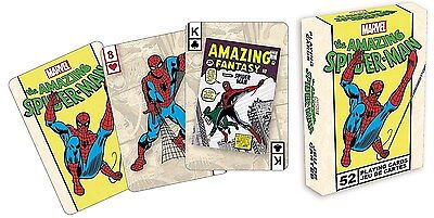 Spiderman set of  playing cards (nm)