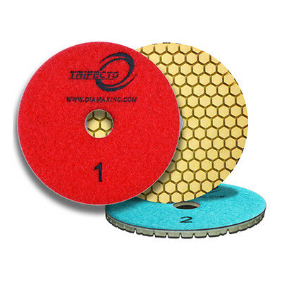 Cyclone Trifecto 3-Step Wet Polishing Pads - Set of 3