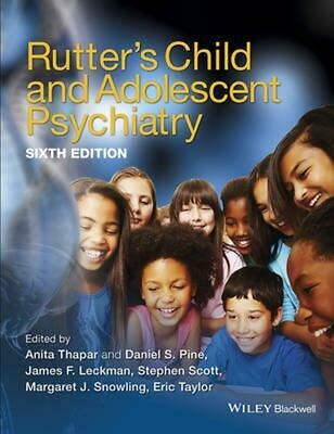 Rutter's Child and Adolescent Psychiatry by Anita Thapar (English) Hardcover Boo