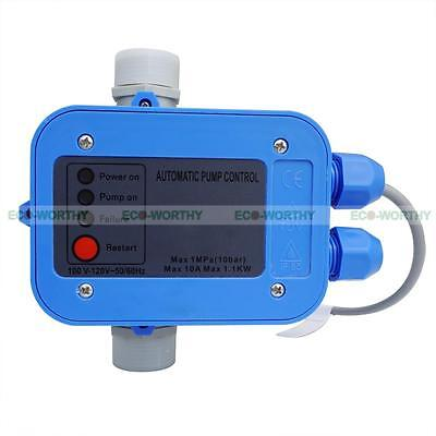 Automatic Water Pump Pressure Controller Electronic Switch Control Unit 110V