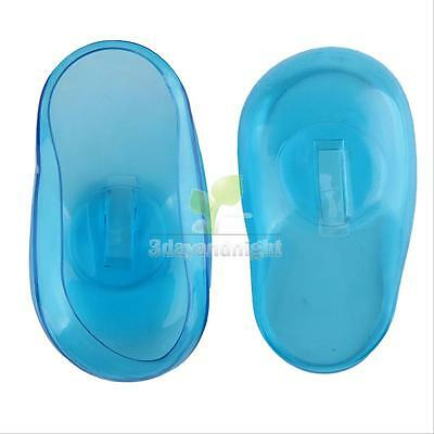 2PCS Ear Protector Cover Travel Hair Color Showers Water Shampoo Perm Dye Shield
