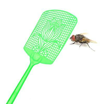 3 Pcs Bug Insect Fly Pest Mosquito Swatters Racket Handle Killer Random Color