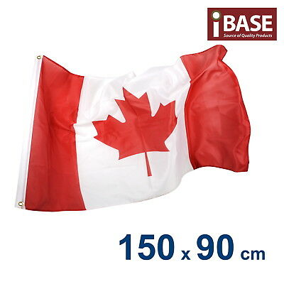 Canada Canadian CAN National Olympics Heavy Duty Outdoor Flag 150x90cm 5x3ft