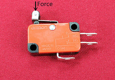 New Momentary Limit Micro Switch Spdt Snap Action Switch V-155-1C25
