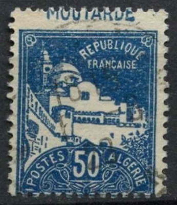 "Algeria 1926 SG#51, 50c ""Moutarde"" Inscription Error Used #A91930"