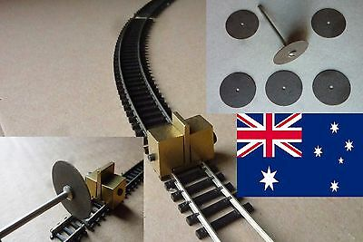 TRACK-CLAMP, CUT OFF WHEELS + JOINERS for BEMO SCALE H0m  - POSTAGE-FREE (AUS)