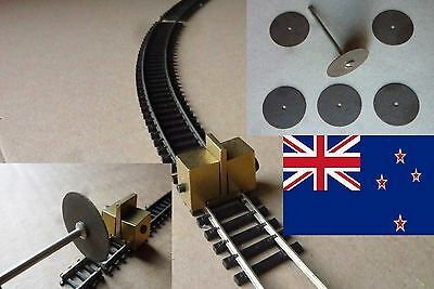 TRACK-CLAMP, CUT OFF WHEELS + JOINERS for BEMO SCALE H0m  - POSTAGE-FREE (NZ)