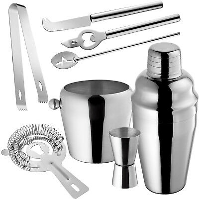 Set de Cocktail Shaker Cocktail Mixer Shaker doseur porer neuf