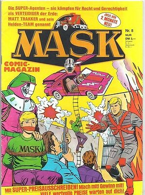 Mask Comic-Magazin Nr. 8 - Die Comic-Serie Zur Toy-Line 1988 - 1990