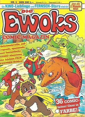 Star Wars Die Ewoks Comic-Magazin Nr. 5 / 1986