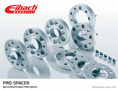 Eibach 15mm Wheel Spacers & Wheel Bolts Volkswagen Golf Mk7 R 2013-