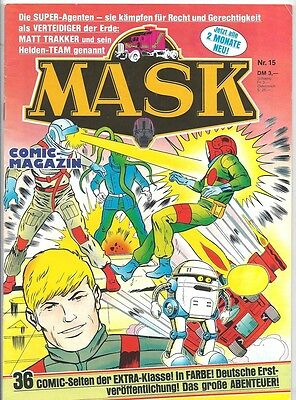 Mask Comic-Magazin Nr. 15 - Die Comic-Serie Zur Toy-Line 1988 - 1990