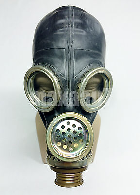 LARGE adult size russian soviet black gas mask GP-5M size LARGE 3 size