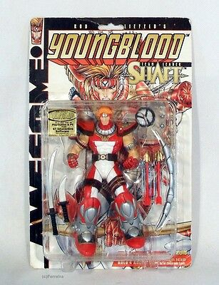 Awesome Toys / Youngblood / Teamleader Shaft / 1997 / Moc