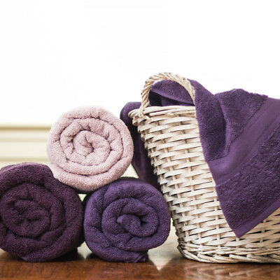 Jeff Banks Egyptian Cotton Exclusive Purple Collection 6 Towels 550 GSM