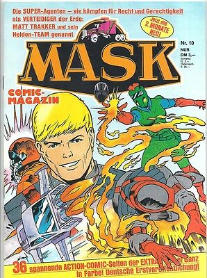 Mask Comic-Magazin Nr. 10 - Die Comic-Serie Zur Toy-Line 1988 - 1990