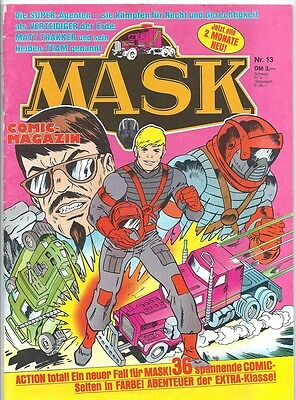 Mask Comic-Magazin Nr. 13 - Die Comic-Serie Zur Toy-Line 1988 - 1990