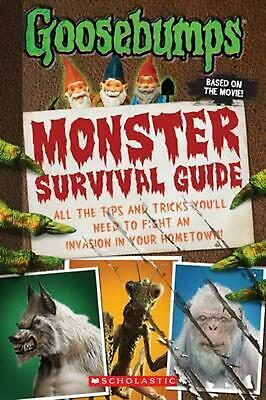 Goosebumps the Movie: Monster Survival Guide by Susan Lurie (English) Paperback