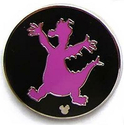 FIGMENT PURPLE SILHOUETTE Hidden Mickey DISNEY PIN