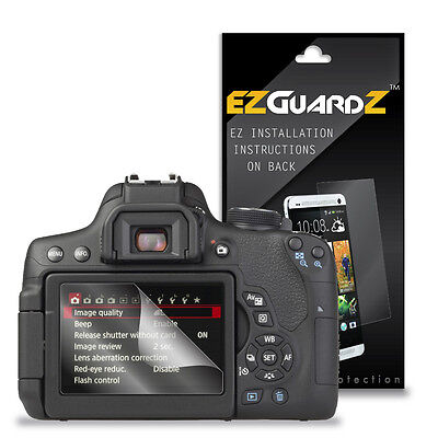 2X EZguardz LCD Screen Protector Cover HD 2X For Canon EOS 750D, EOS Rebel T6i