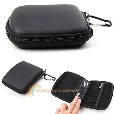 5Inch Hard Shell GPS Carry Case Bag Zipper Cover Pouch for TomTom Garmin Sat Nav