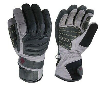 Black Diamond Womens Legend Ski Snowboard Gloves Waterproof GoreTex Leath SMALL