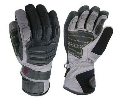 Black Diamond Womens Legend Ski Snowboard Gloves Waterproof GoreTex Leath LARGE
