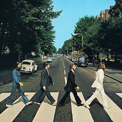 The Beatles...ABBEY ROAD.. Retro Album Cover Poster A1A2A3A4Sizes