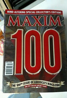 100th ISSUE Maxim Magaznie 4/06 SPECIAL COLLECTOR'S EDITION