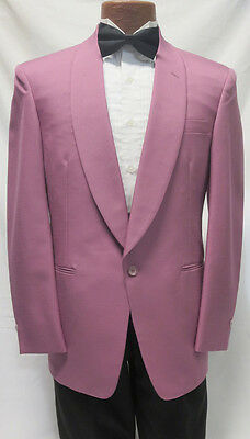 10B Vintage Retro 80s Flamingo Pink Miami Vice Uptown Funk Prom Party Costume