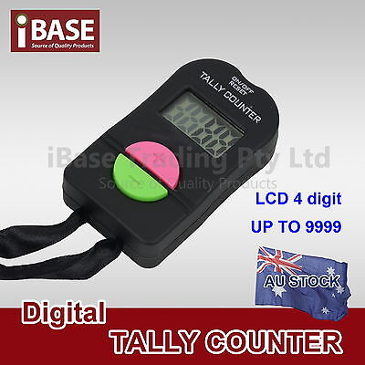 Digital Tally Counter Electronic Lcd Hand Head Clicker Bouncer Crowd Golf Number