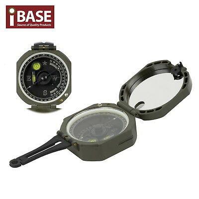 Professional Compass Camping Hiking Travel Military Lensatic Survival Sighting