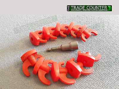 Hard Ground Rock Spares Kit for Screw In Steel Tent Pegs