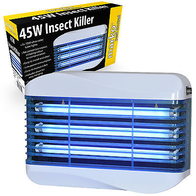 45W Electric Insect Killer UV Industrial Glue Paper Fly Catcher Restaurant Cafe