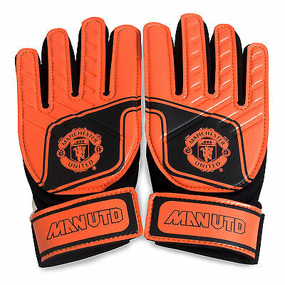 Manchester United FC Official Football Gift Goalkeeper Goalie Gloves