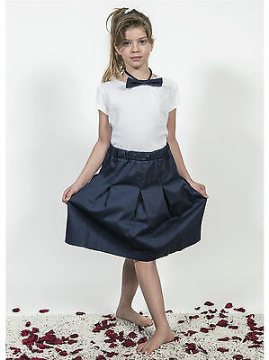 Gonna Scuola Divisa Bambina Girl Child School Uniform Skirt PG01K
