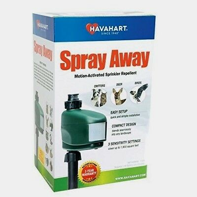 Havahart SPRAY AWAY Animal Pest Water Repellent Motion Activated Sprinkler 5266