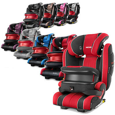 RECARO Kindersitz Monza Nova IS 9 -36 kg ISOFIX -- Baby Child Car Seat