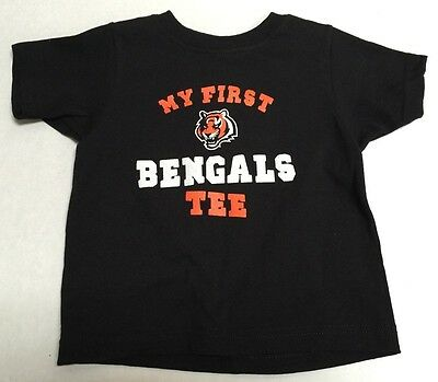 Cincinnati Bengals Football NFL Reebok Team Apparel official infant T-shirt  New 29a7f0ff8