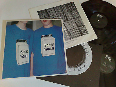 Sonic Youth Washing Machine 1995 Dgc 2-24825 Made In Usa 2Lp