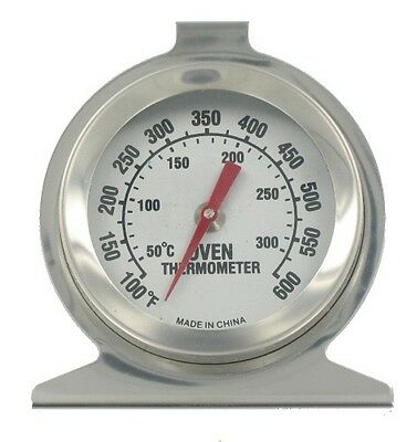 Stainless Steel Oven Cooker Thermometer Temperature Gauge